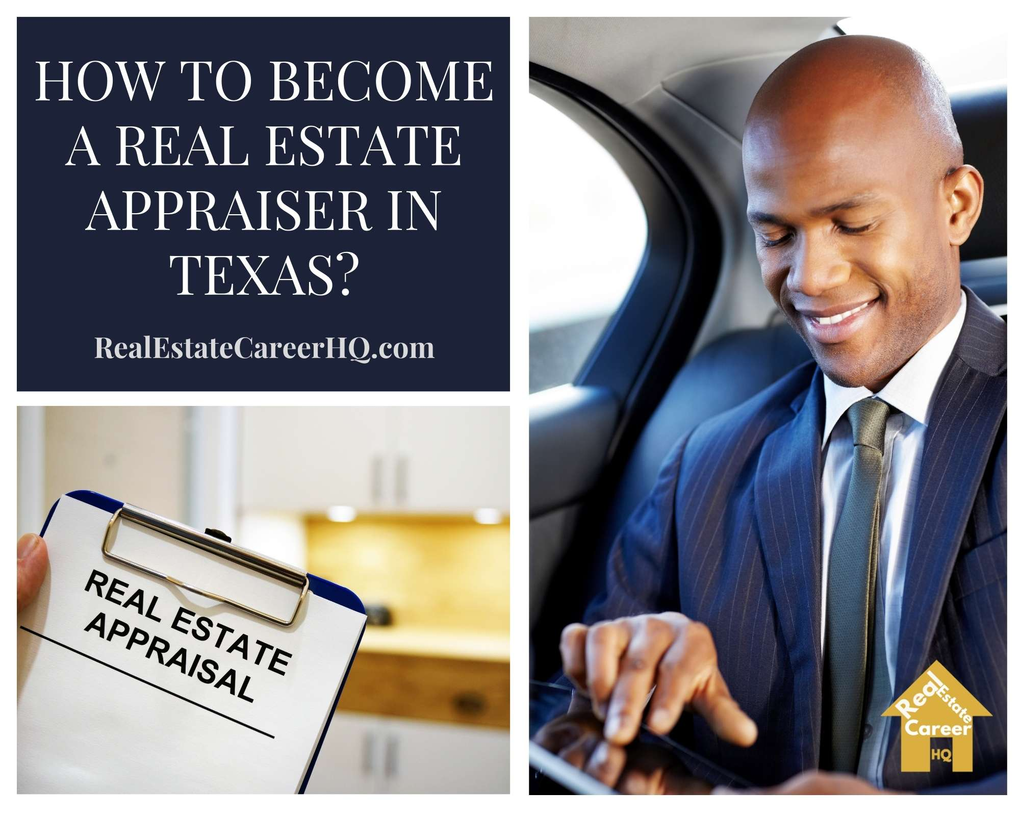 How to Become a Real Estate Appraiser in Texas