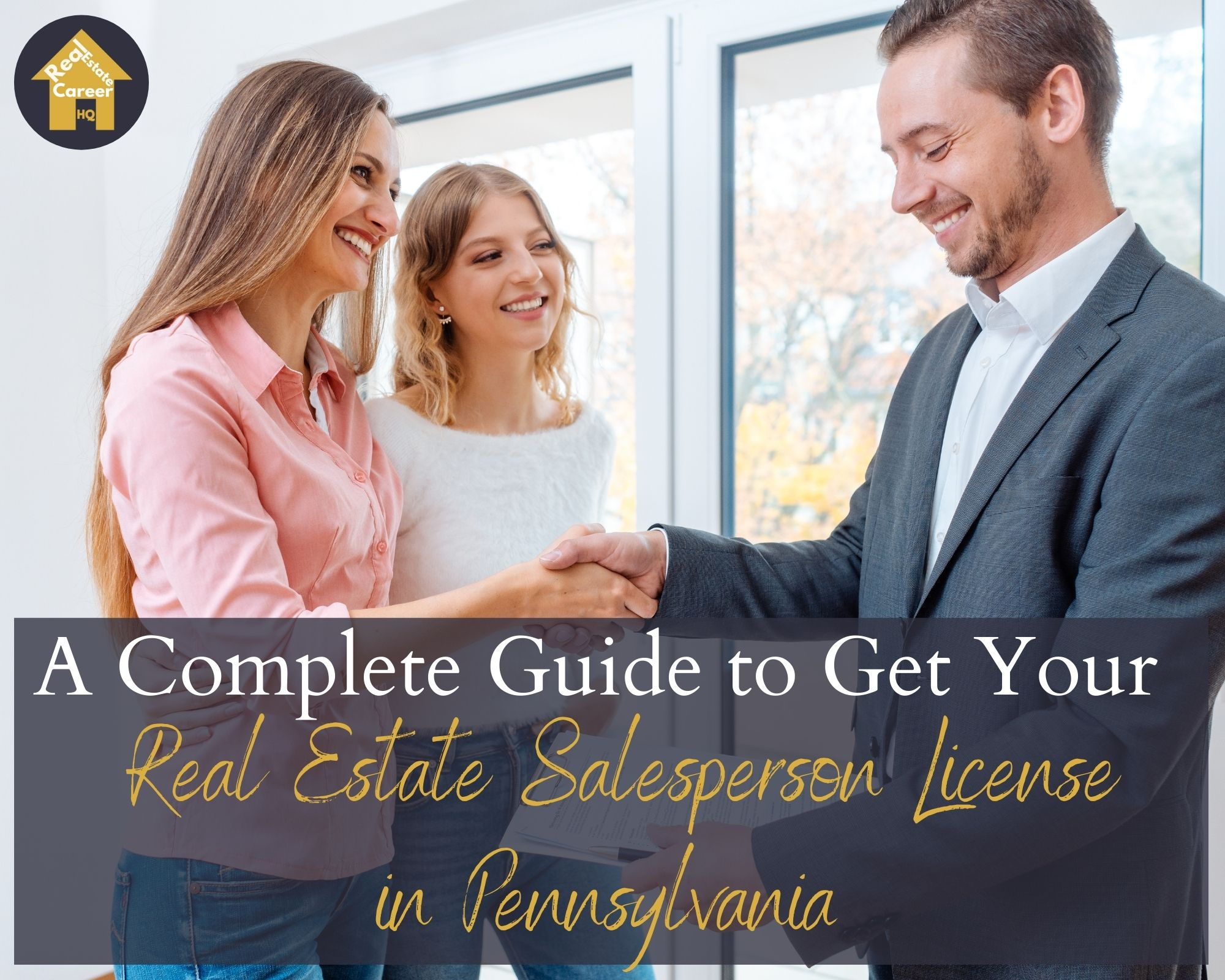 How to Become a Real Estate Salesperson in Pennsylvania?