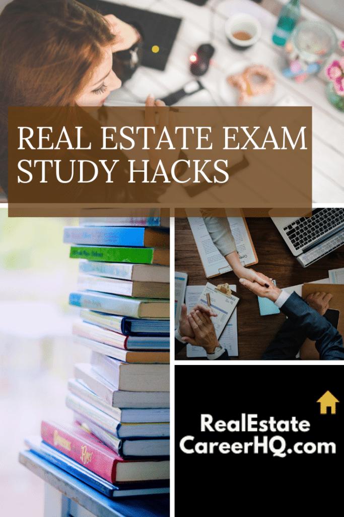 Real Estate Exam Study Hacks