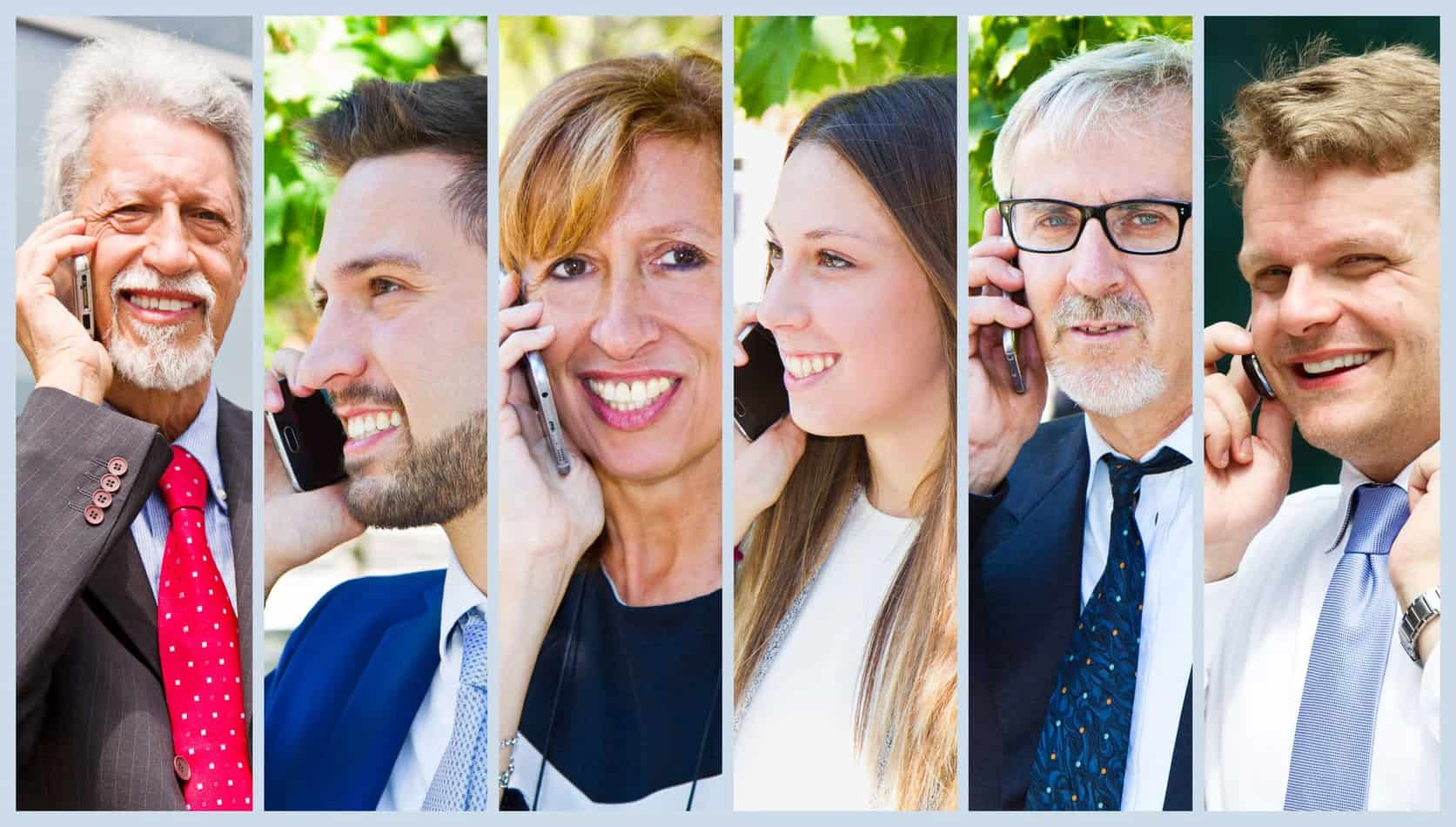 real estate agents on the phone