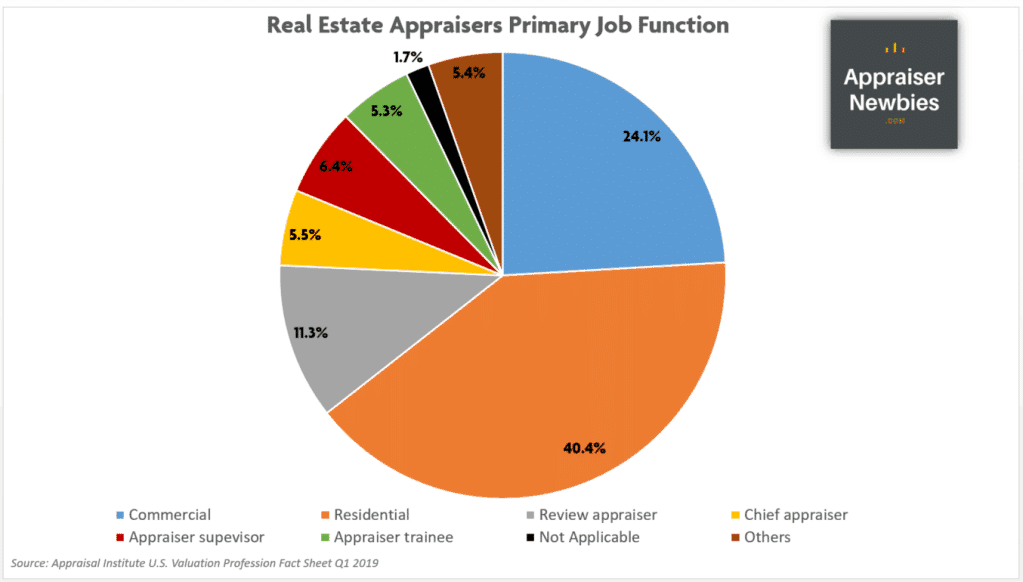 real estate appraisers primary job function