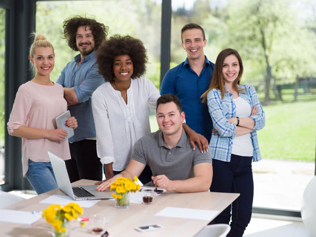 group of real estate professionals