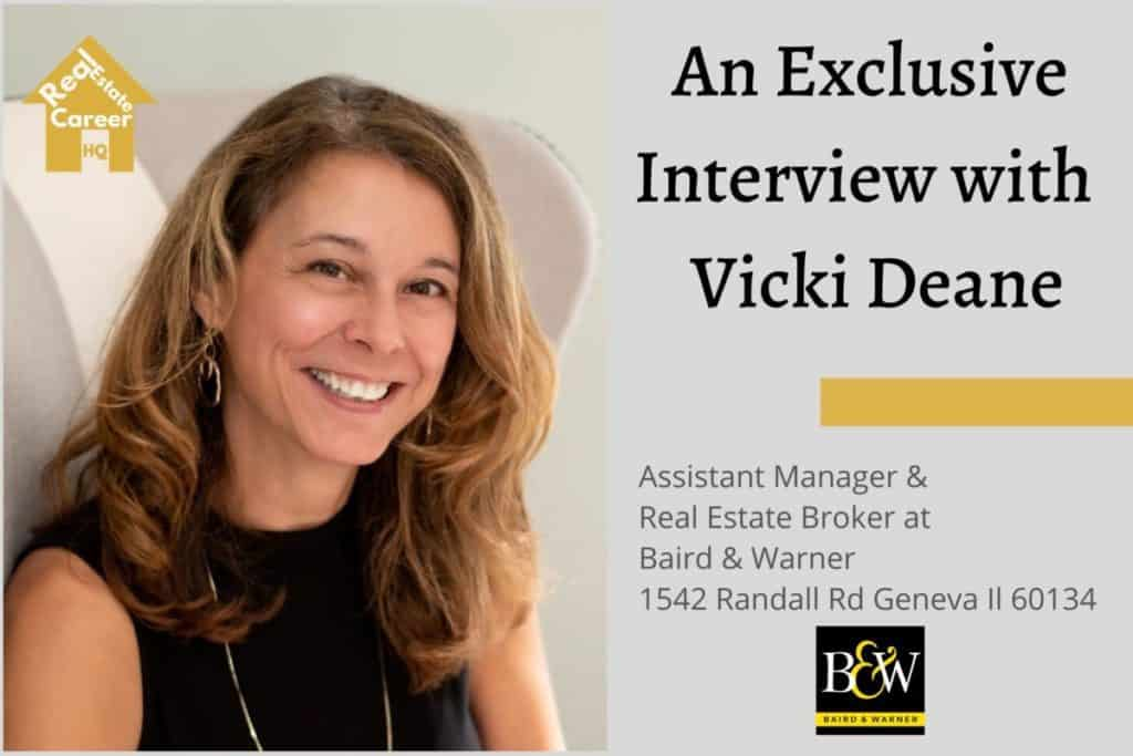 Real Estate Broker Interview with Vicki Deane (with address)
