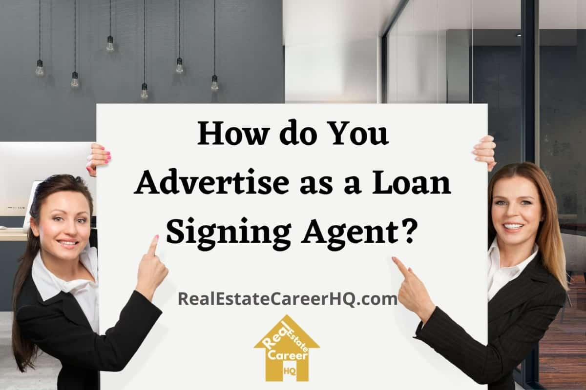 notary loan signing agent advertising