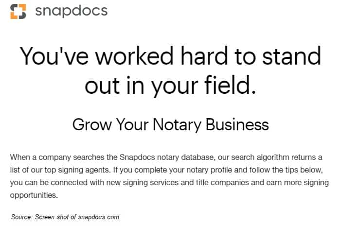 snapdocs notary business