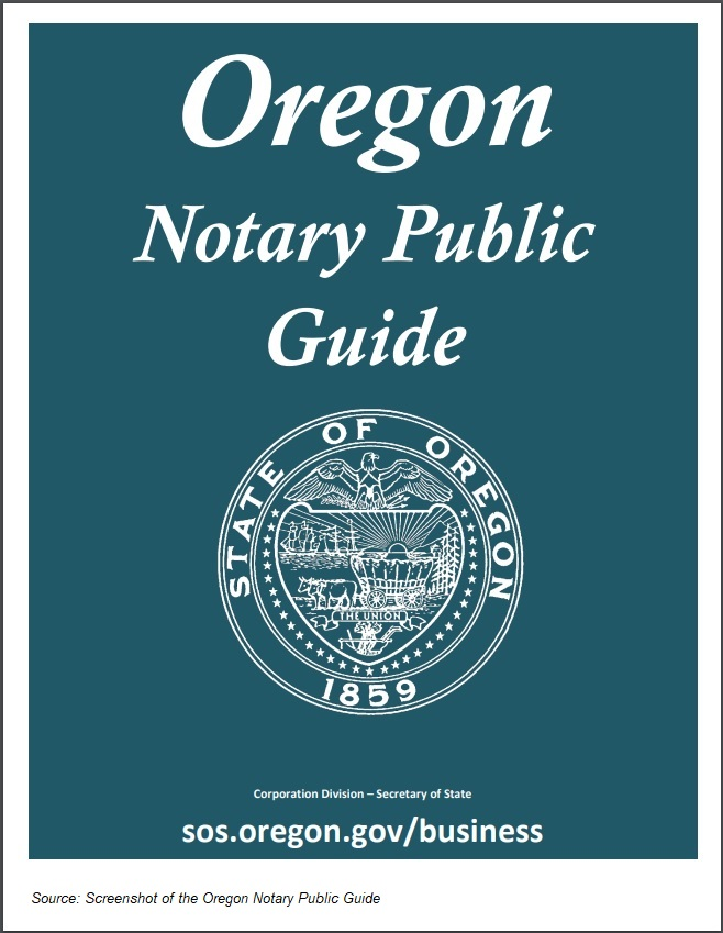 Oregon Notary Public Guide