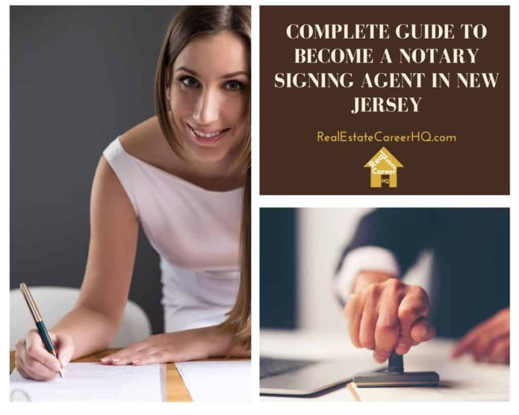 How to Become a Notary Signing Agent in New Jersey?