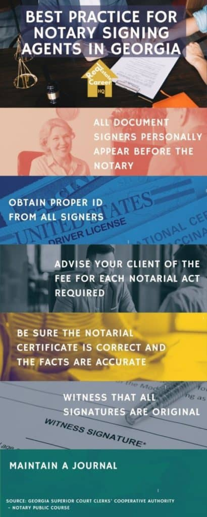 Best Practice for Notary Signing Agents in Georgia