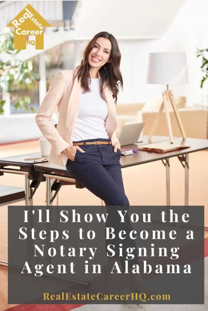 How to Become a Notary Signing Agent in Alabama?
