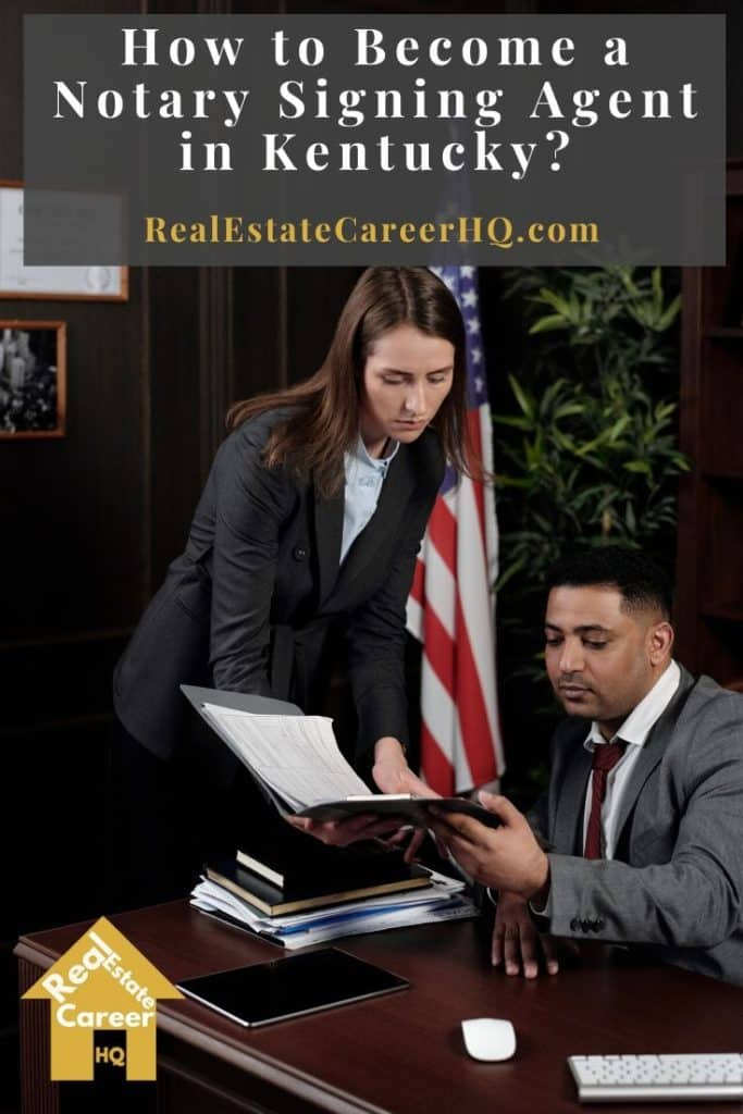 How to Become a Notary Signing Agent in Kentucky?