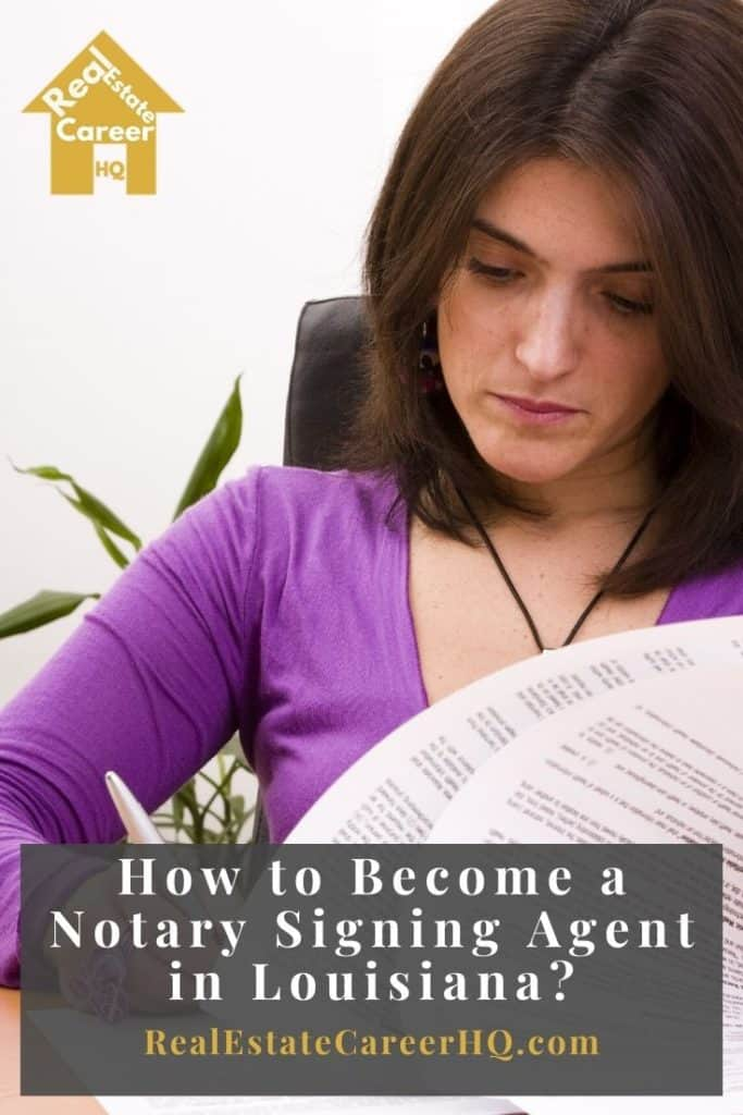 How to Become a Notary Signing Agent in Louisiana?