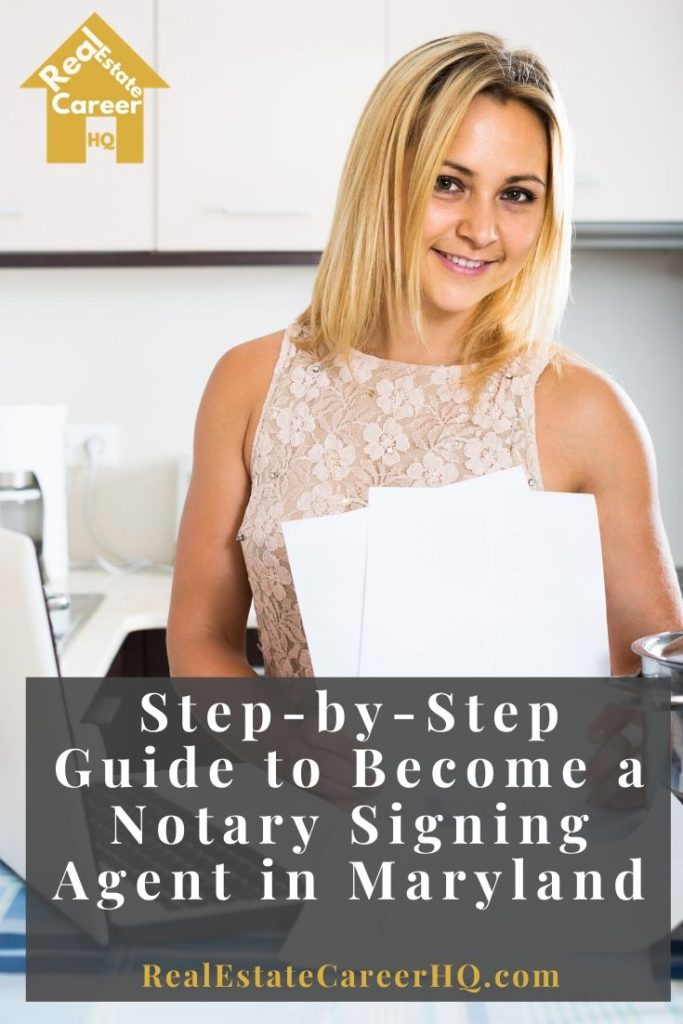 6 Steps to Become a Notary Signing Agent in Maryland
