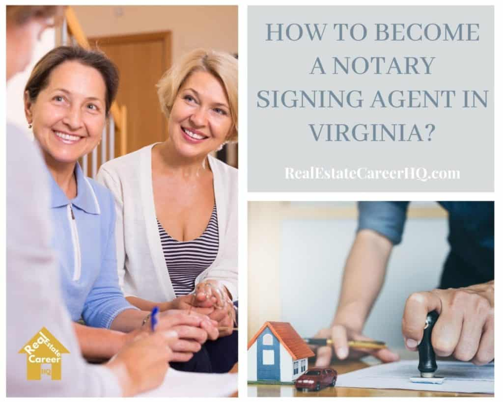 How to Become a Notary Signing Agent in Virginia?