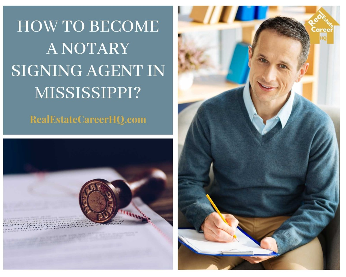 How to Become a Notary Signing Agent in Mississippi