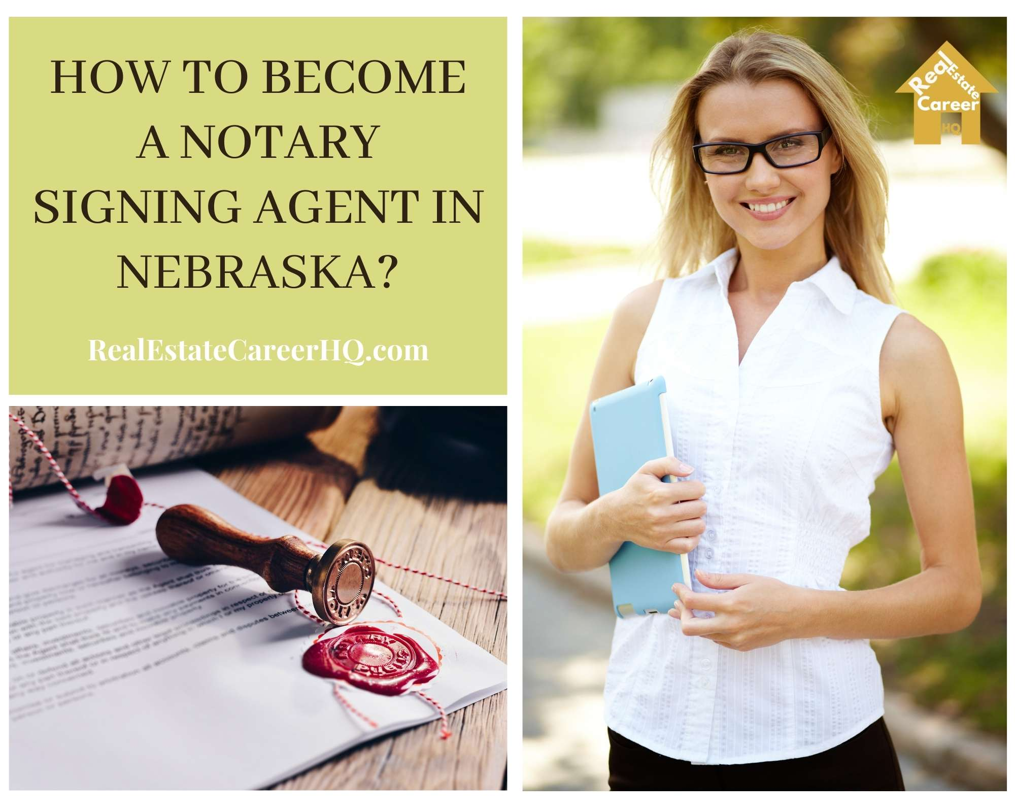 How to Become a Notary Signing Agent in Nebraska