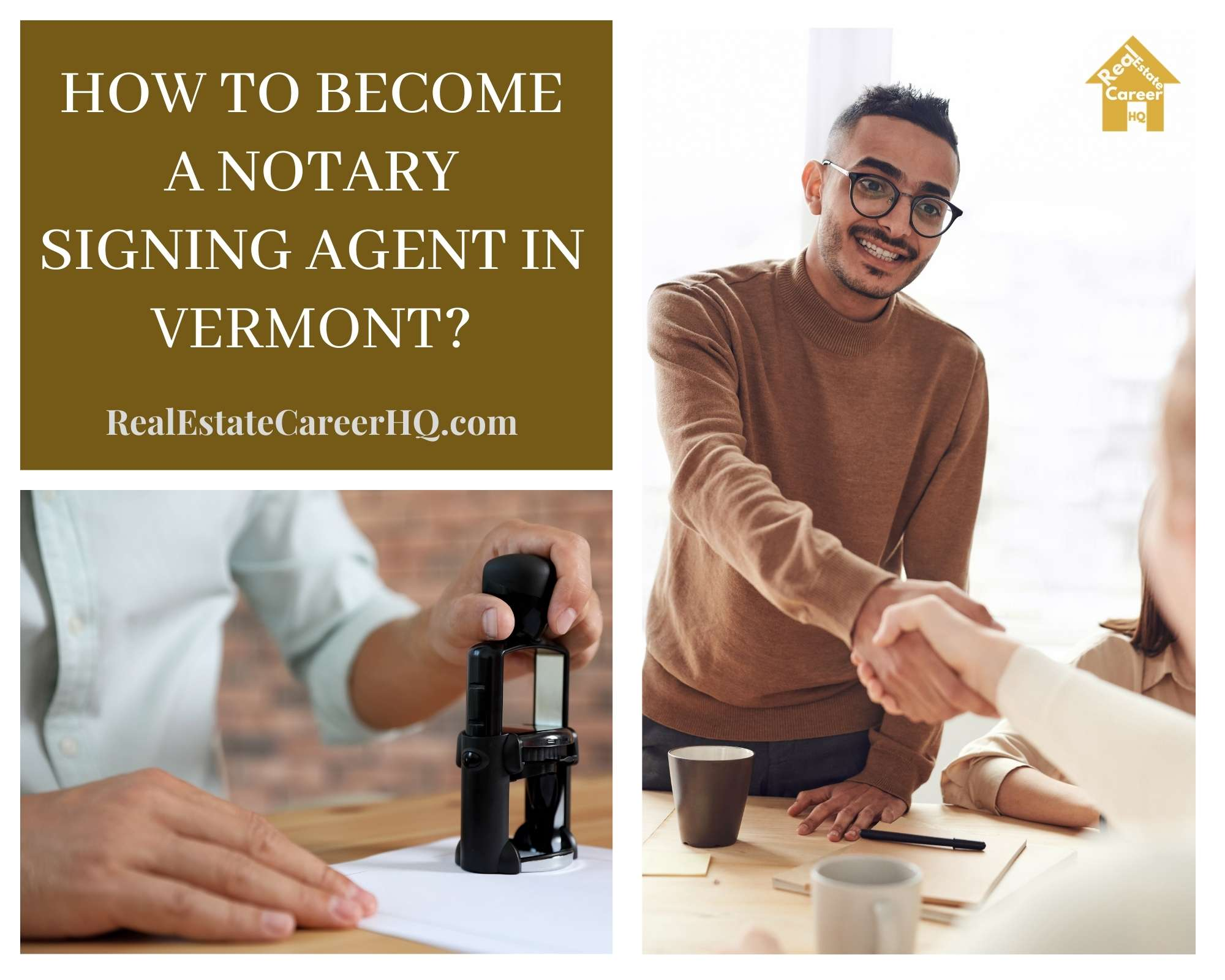 How to Become a Notary Signing Agent in Vermont