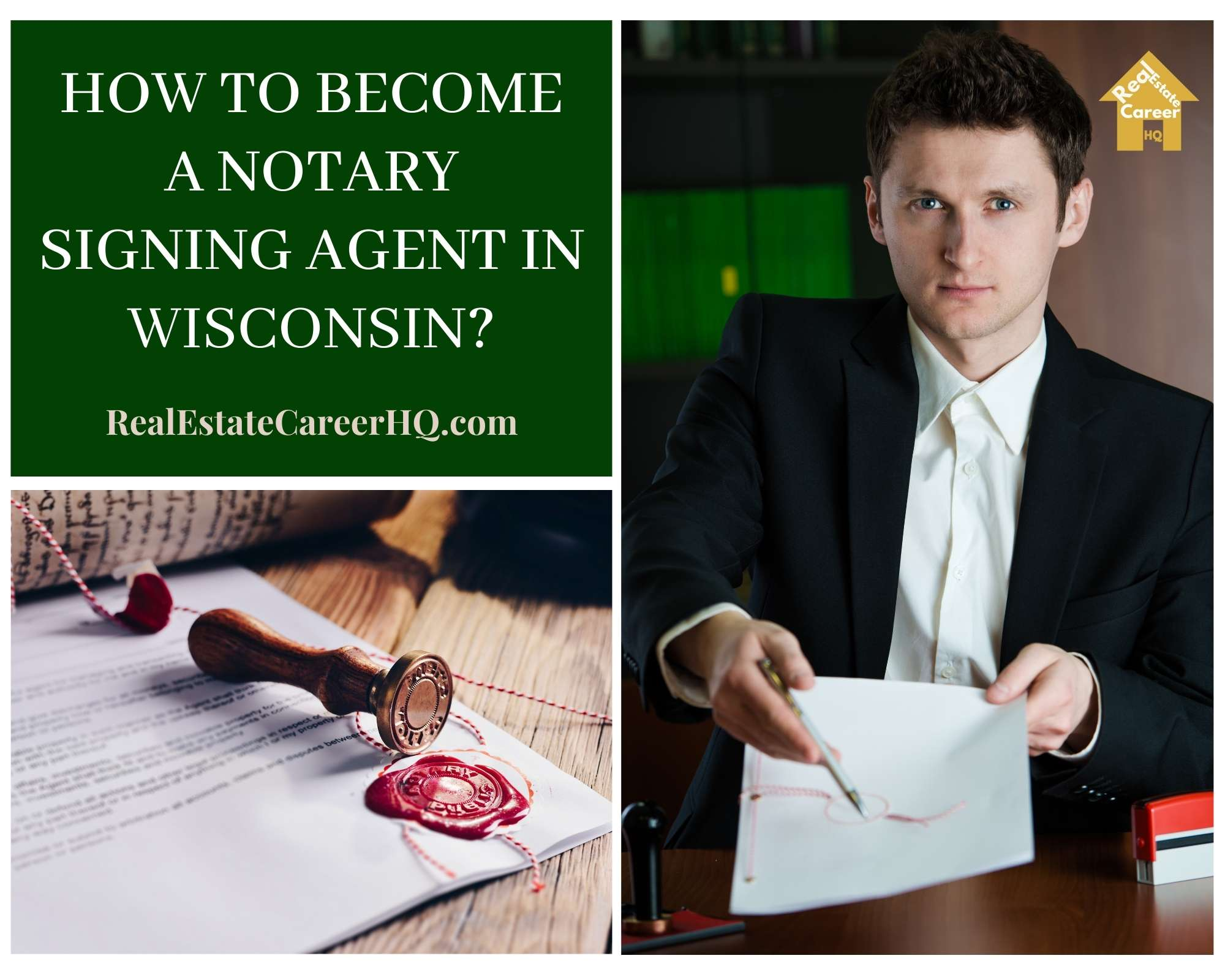 How to Become a Notary Signing Agent in Wisconsin