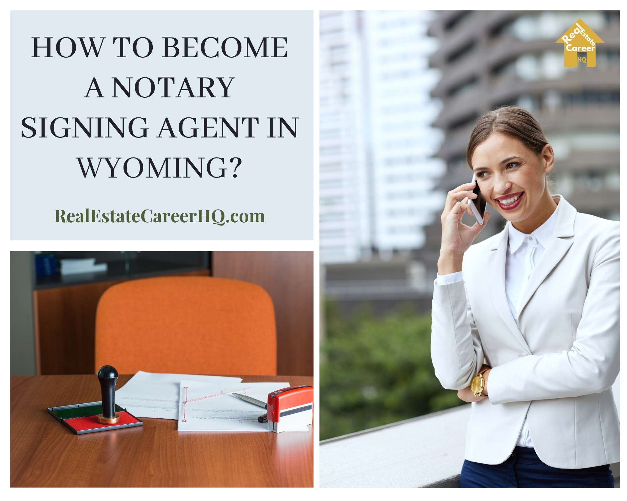 How to Become a Notary Signing Agent in Wyoming
