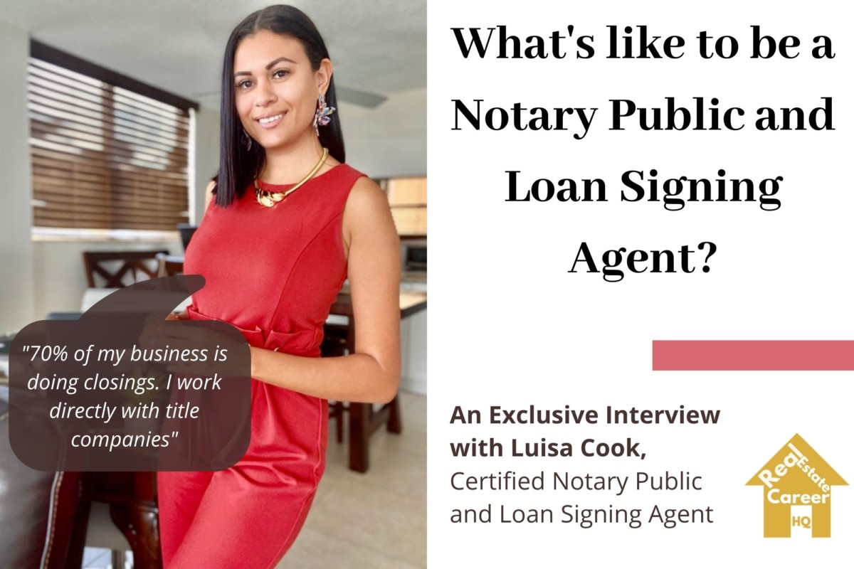 Luisa Cook Notary Public and Loan Signing Agent