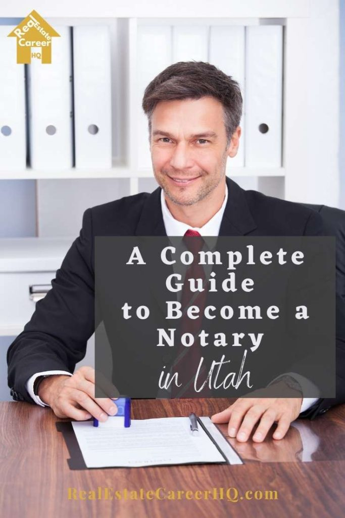 Steps to Become a Notary in Utah