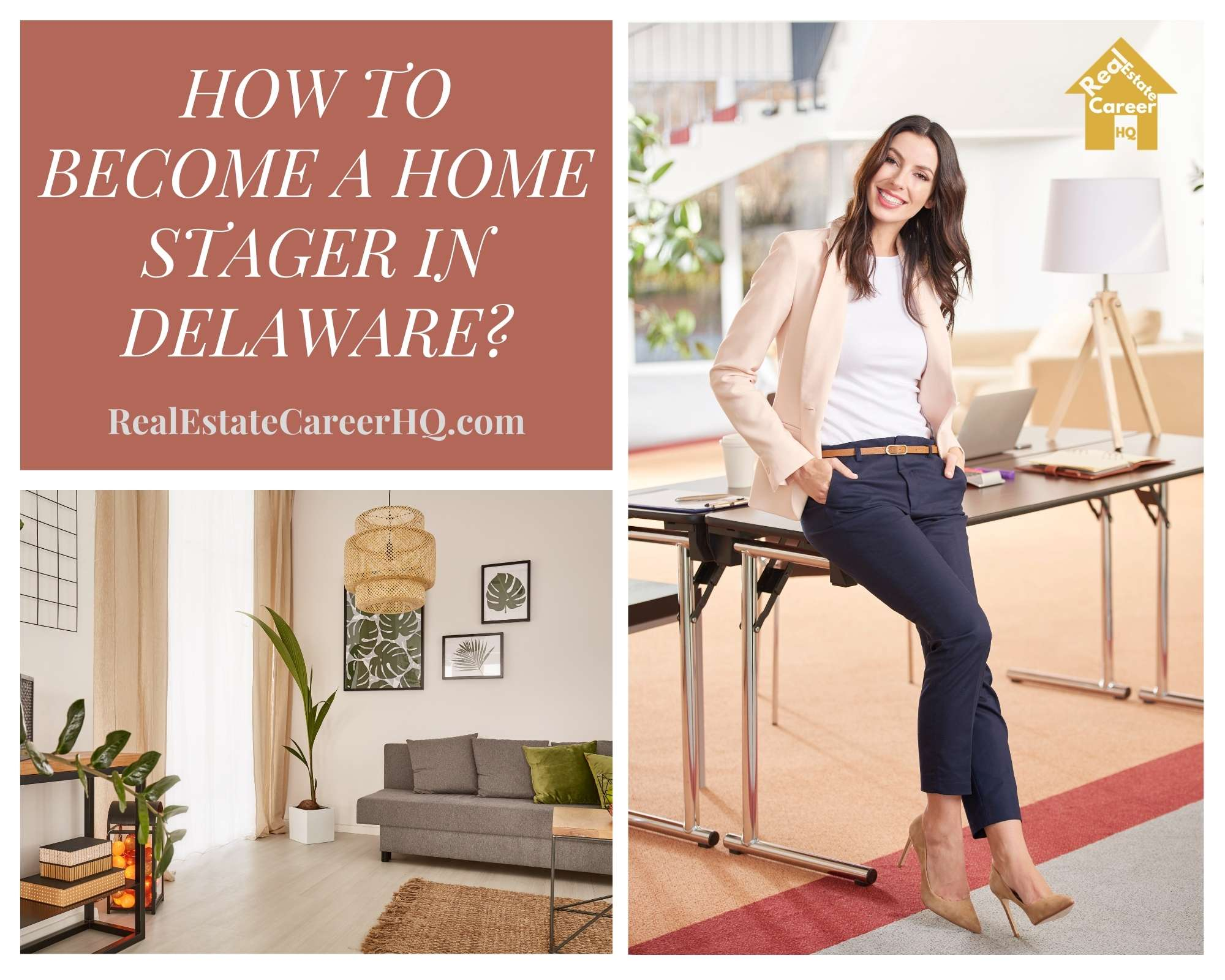 How to Become a Home Stager in Delaware