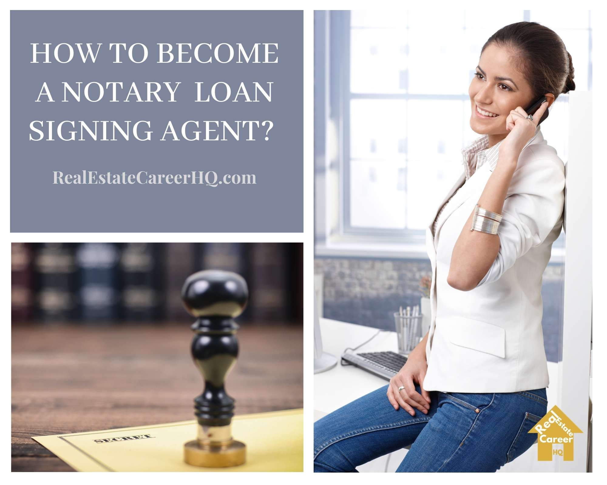 How to become a notary loan signing agent?