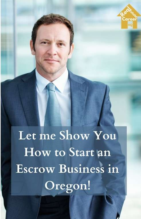 Steps to Become an Escrow Officer in Oregon