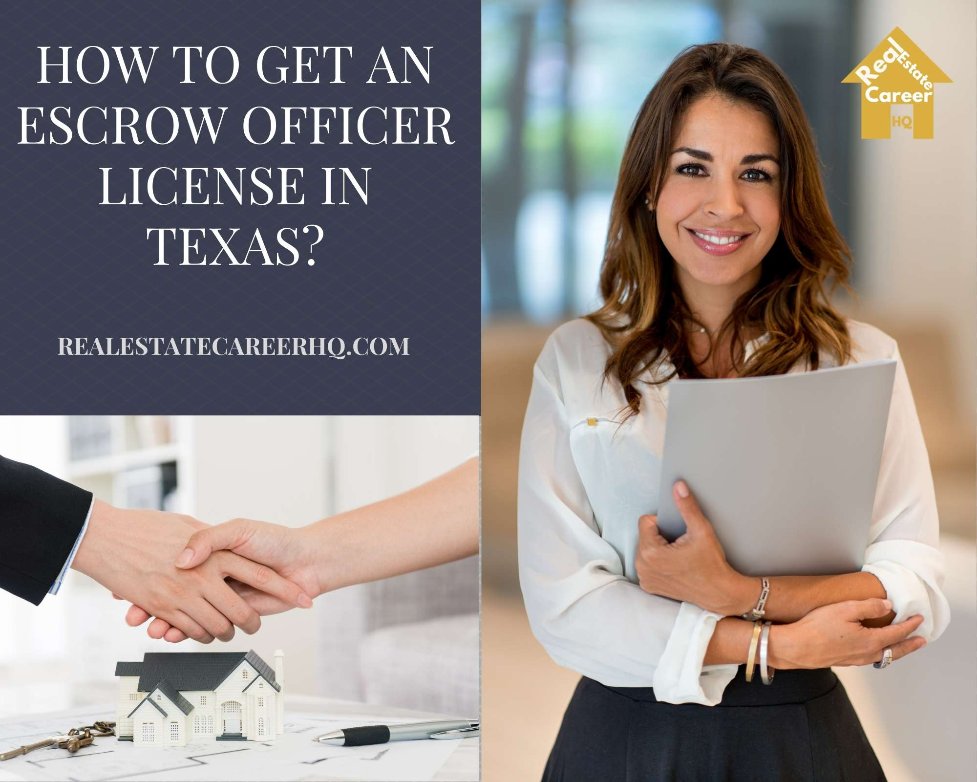 How to Become an Escrow officer in Texas