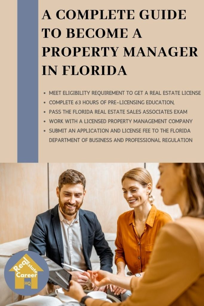 7 Steps to become a property manager in Florida