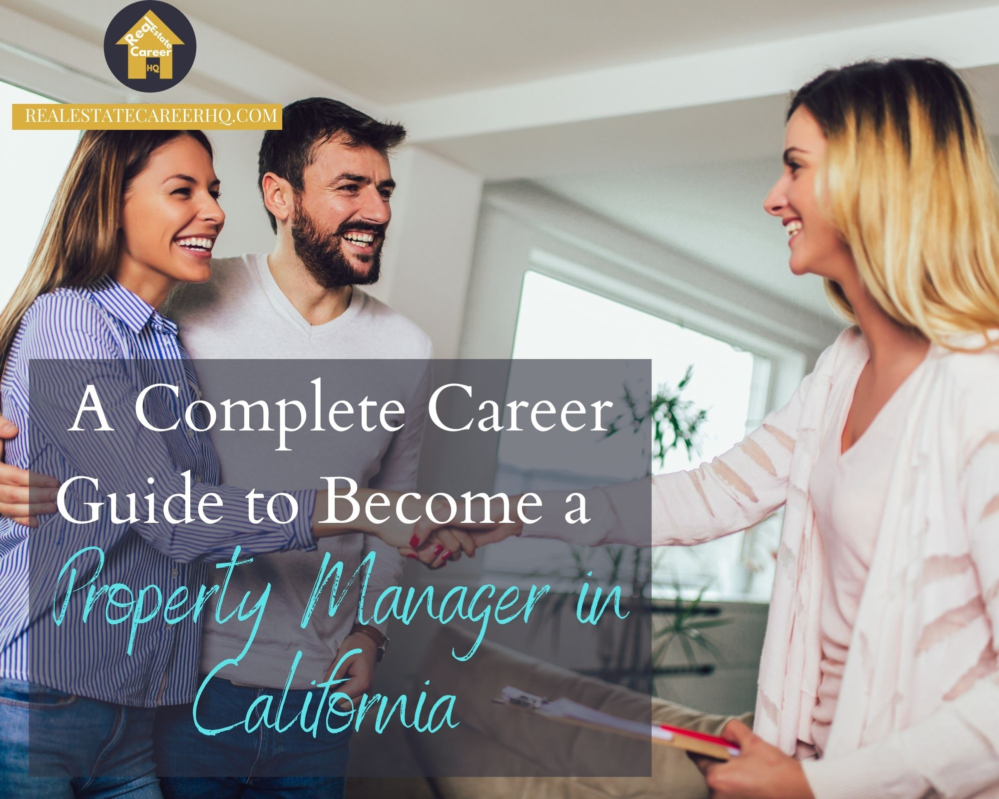 How to become a property manager in California?