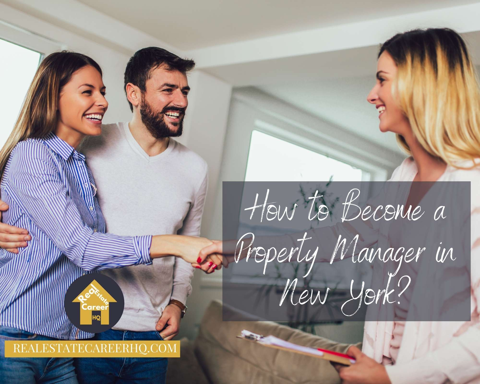 How to become a property manager in New York