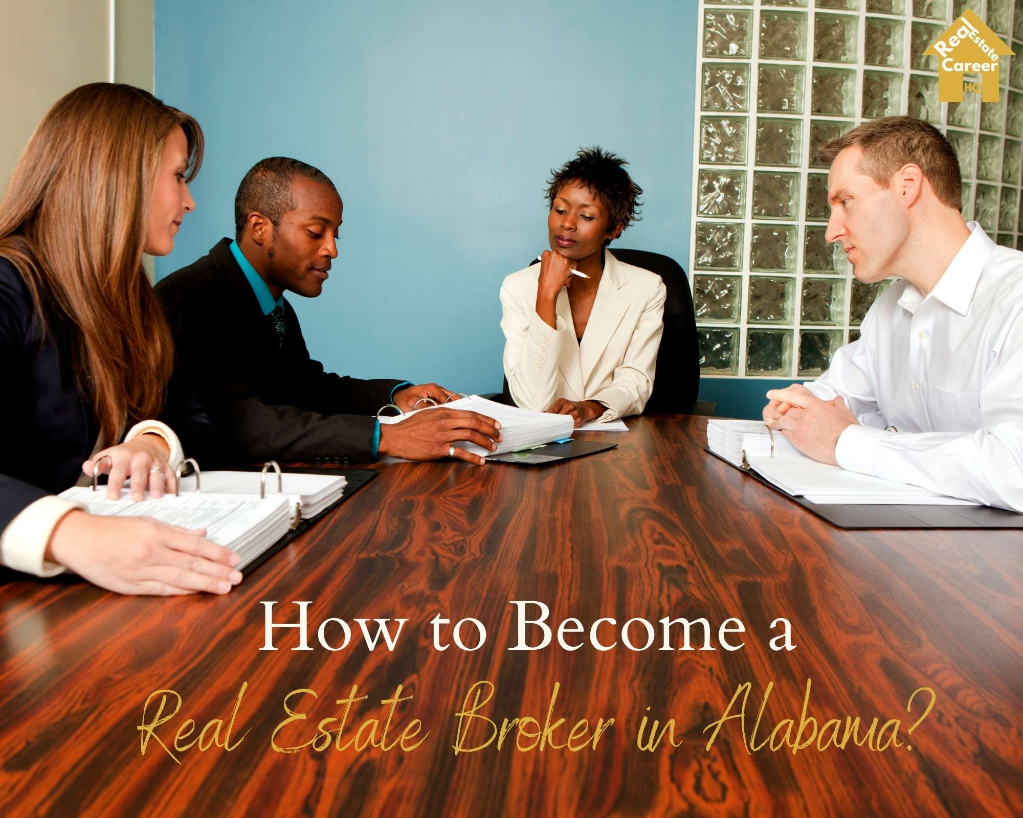 How to become a real estate broker in Alabama?