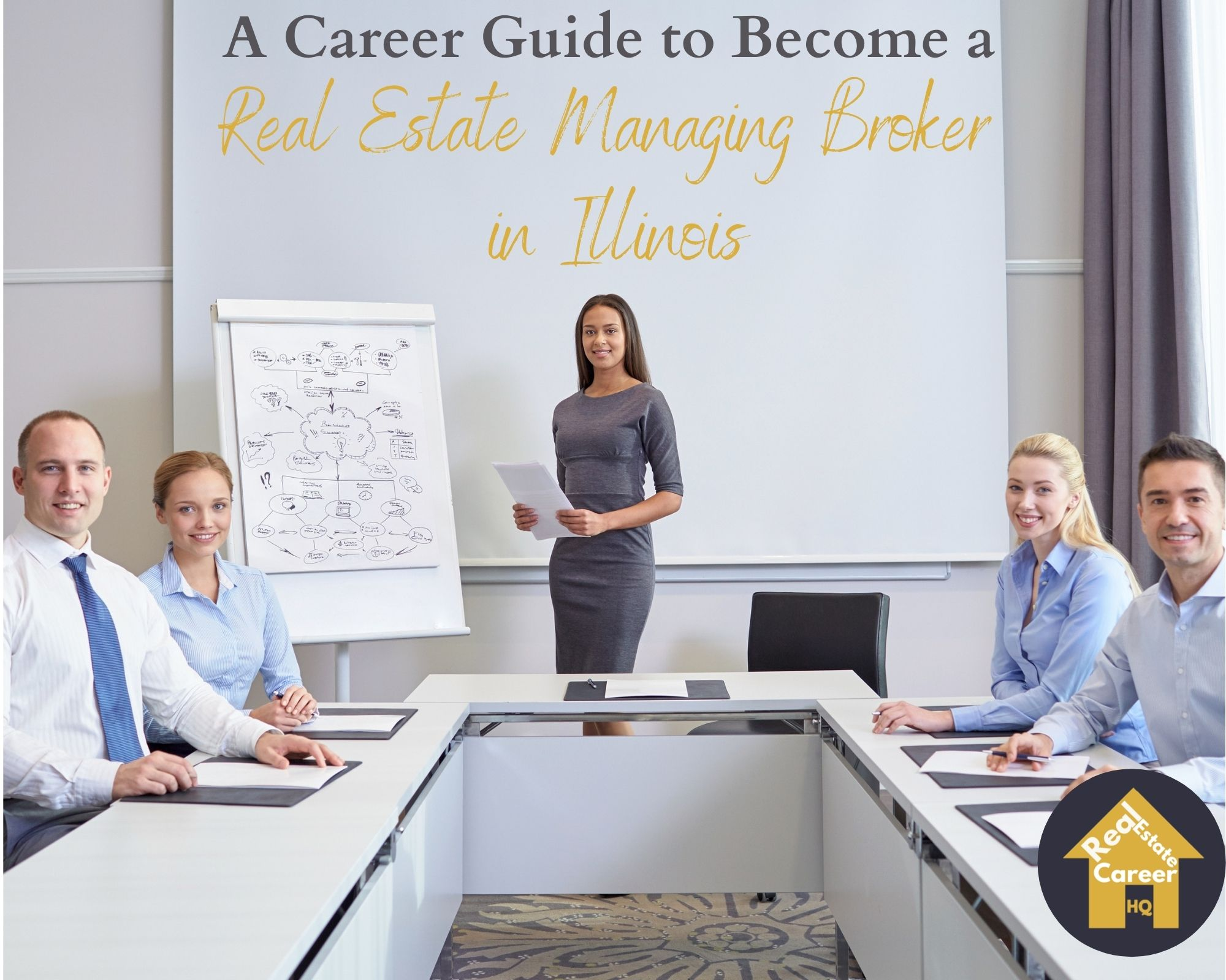 How to Become a Real Estate Managing Broker in Illinois?