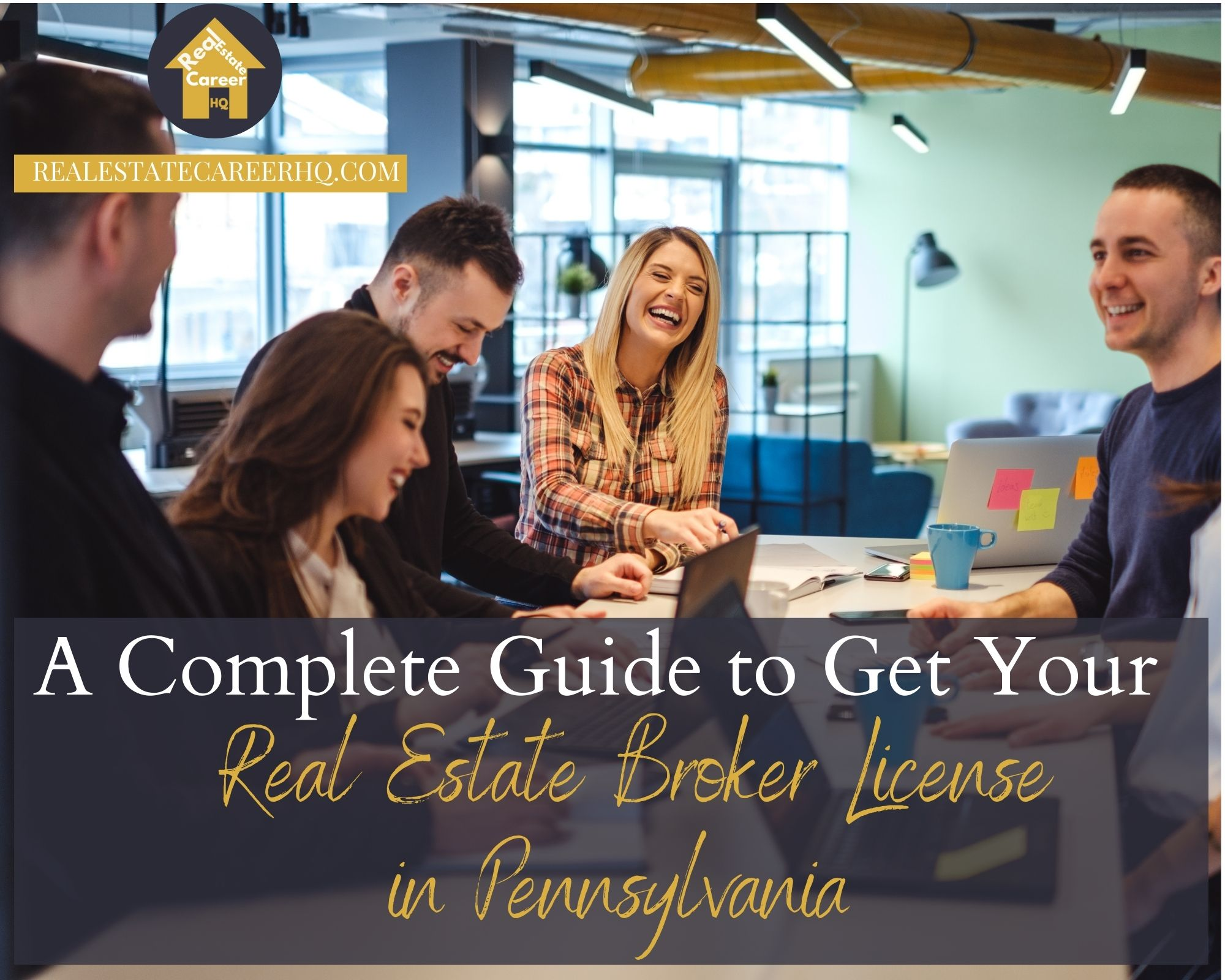 How to become a real estate broker in Pennsylvania?
