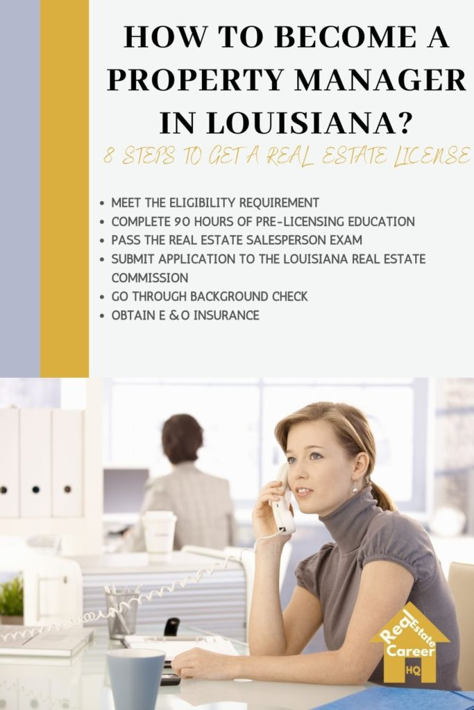 8 Steps to Become a Property Manger in Louisiana
