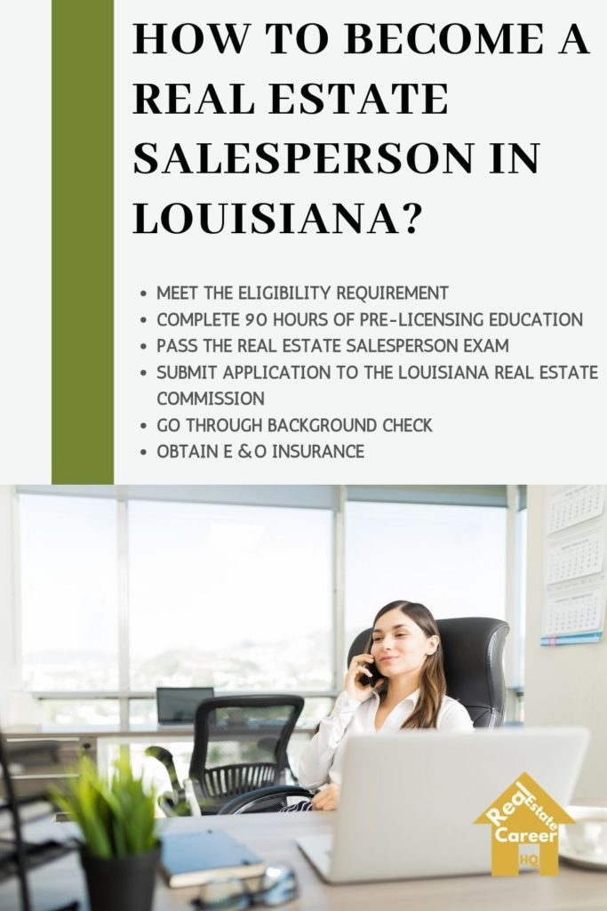 Steps to Become a Real Estate Agent in Louisiana