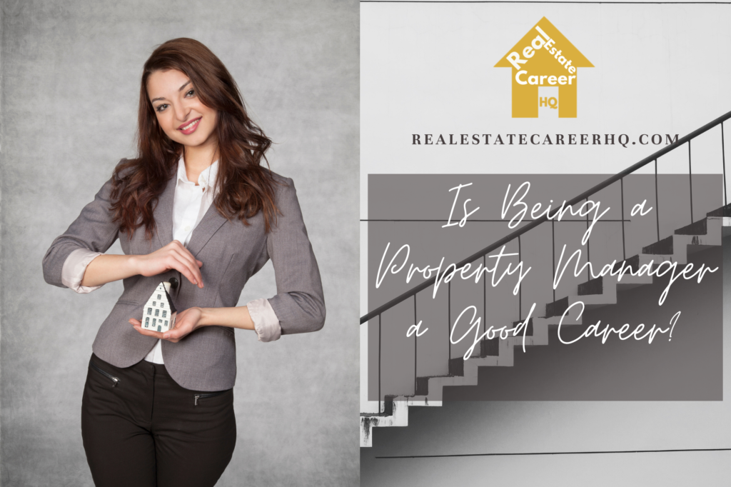 Is being a property manager a good career?